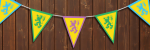 pennant for kids party