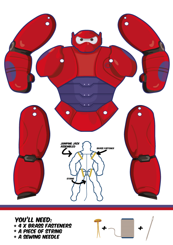 BAymax big hero 6 puppet