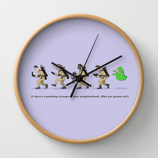 Ghostbusters clock