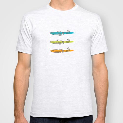 t-shirt p-51
