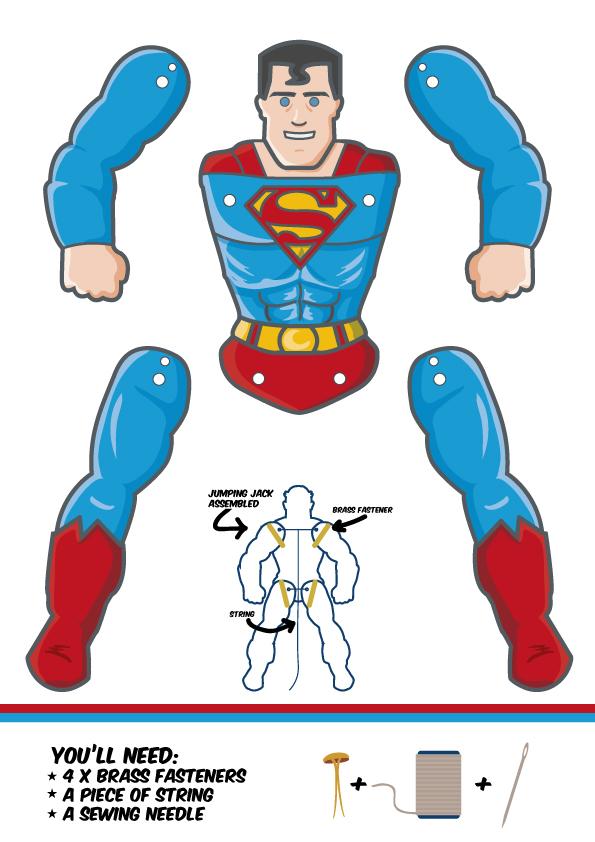 superman-template