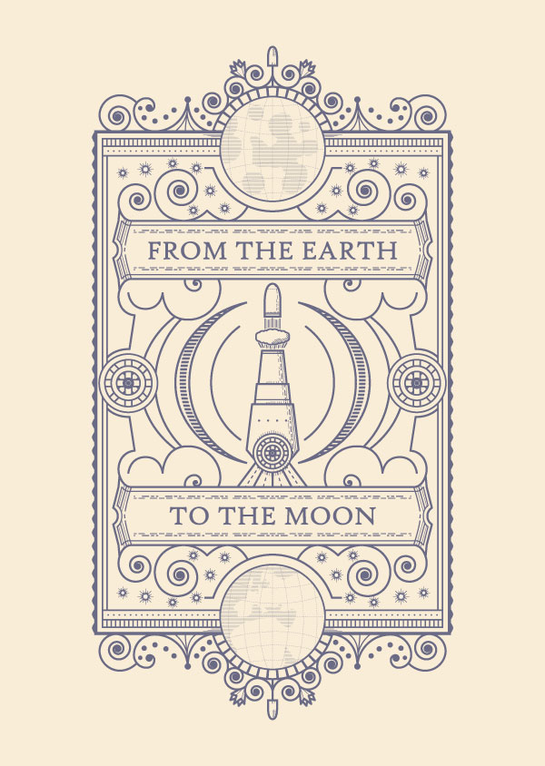 earth to the moon