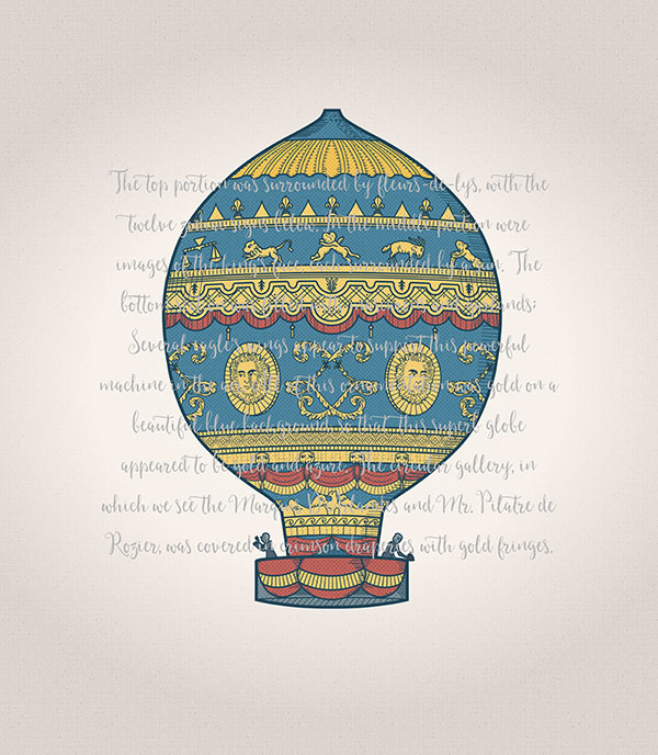 Montgolfier brothers' balloon