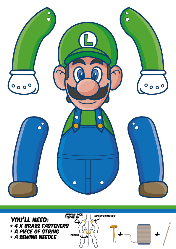 content super mario bros paper puppets filetype pdf filesize 030 mb - Super Mario Pictures To Print