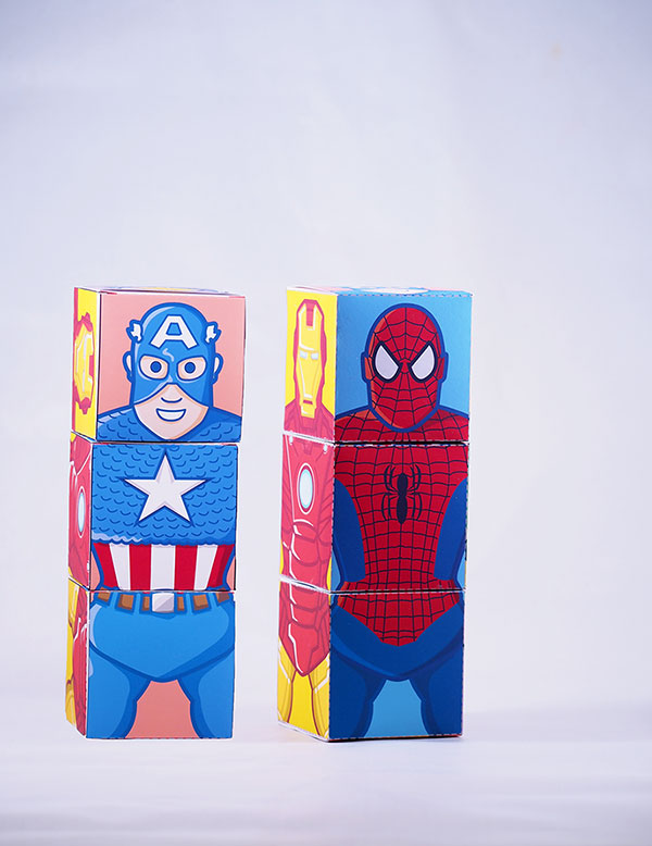 spiderman favor box