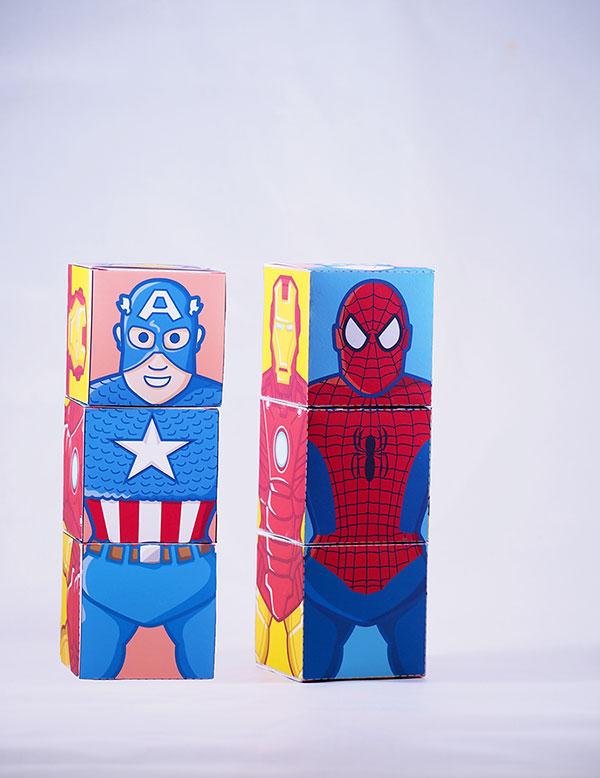 spiderman favor box