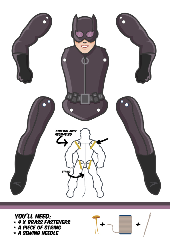 catwoman-template