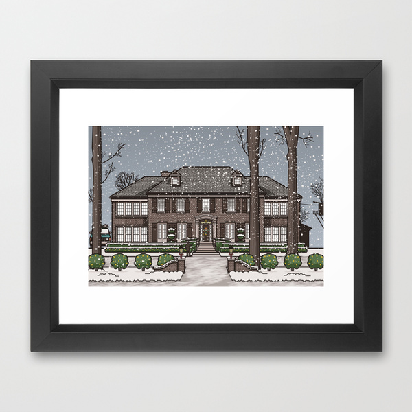 frame art print home alone