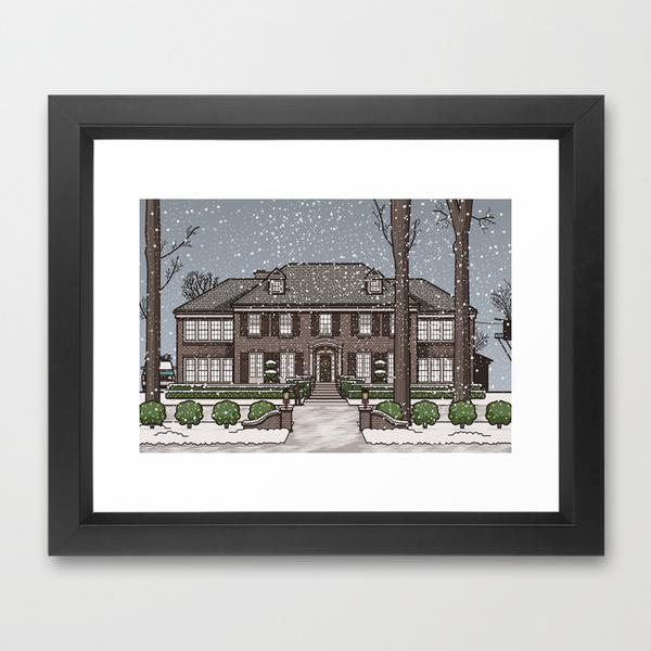 frame art print home alone