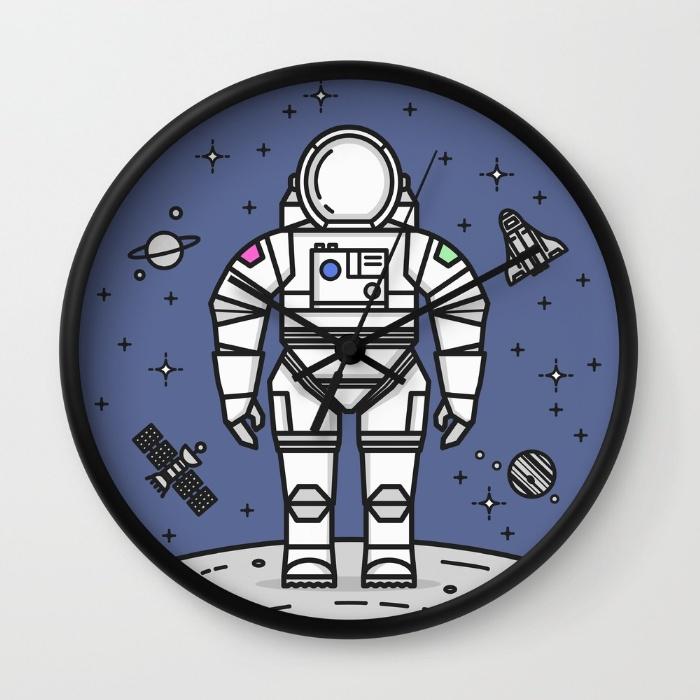 cosmonaut-dance-wall-clocks