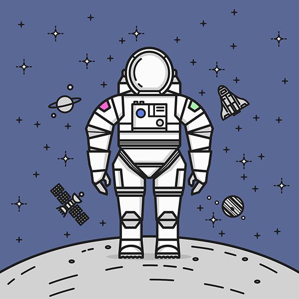 Space Man Dance