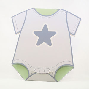 Baby Onesies Cards