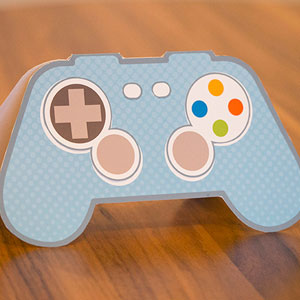 DIY Game Control Gift Card