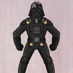 Darth Vader Paper Puppet