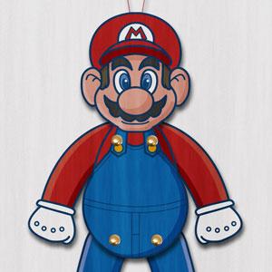 Super Mario Paper Puppet
