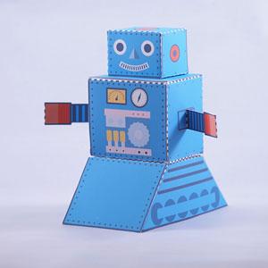Robot Favor Box