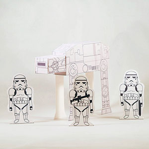Star Wars Papercraft