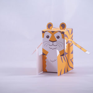 Tiger Favor Box