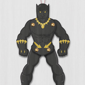 Black Panther Paper Puppet