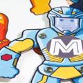 a-z superhero paper toy