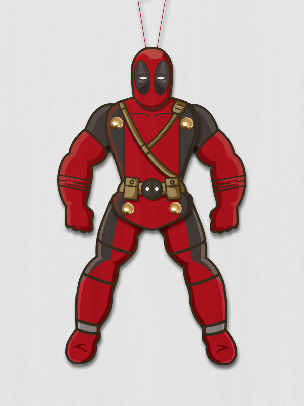 deadpool printable puppet