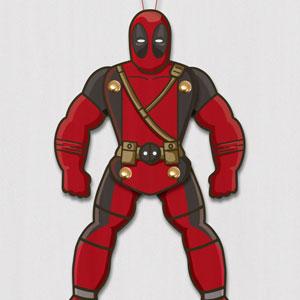 Deadpool Paper Puppet