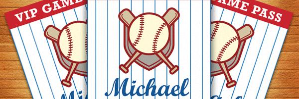 Baseball Birthday Party Invitation Free Printable
