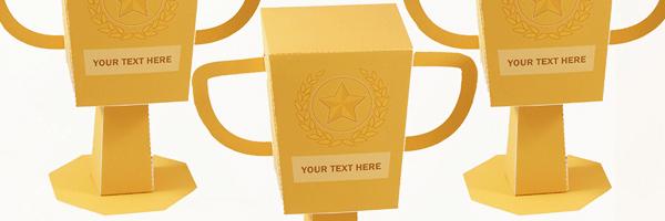 Trophy Favor Box Printable Pdf