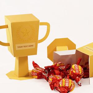 Trophy favor Box