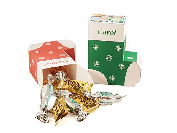 Christmas Stocking favor box