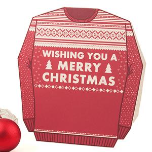 Sweater Christmas Crad