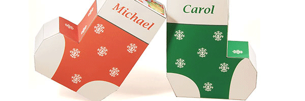 image about Printable Stocking titled Xmas Stocking Want Bins - Printable PDF
