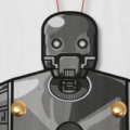 K-2SO paper puppet