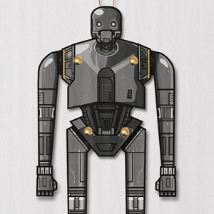 Star Wars K-2SO Paper Puppet