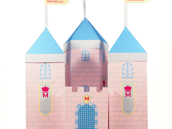 fairytale castle favor box