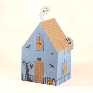 Haunted House Favor Box