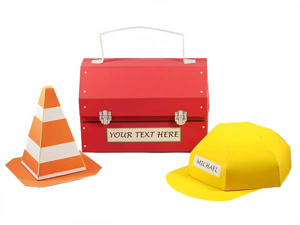 CONSTRUCTION SITE PARTY KIT