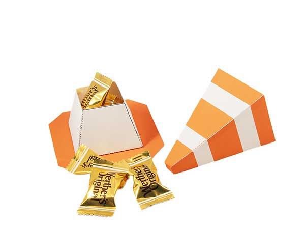 Construction cone favor box