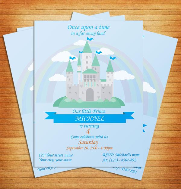 Fairy tale invites