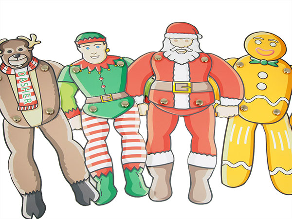 25 Christmas puppet