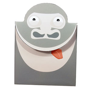 Gorilla Fun – Create a funny Fold out birthday card