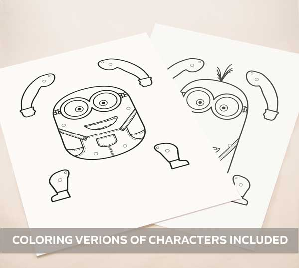 coloring-versions-minions