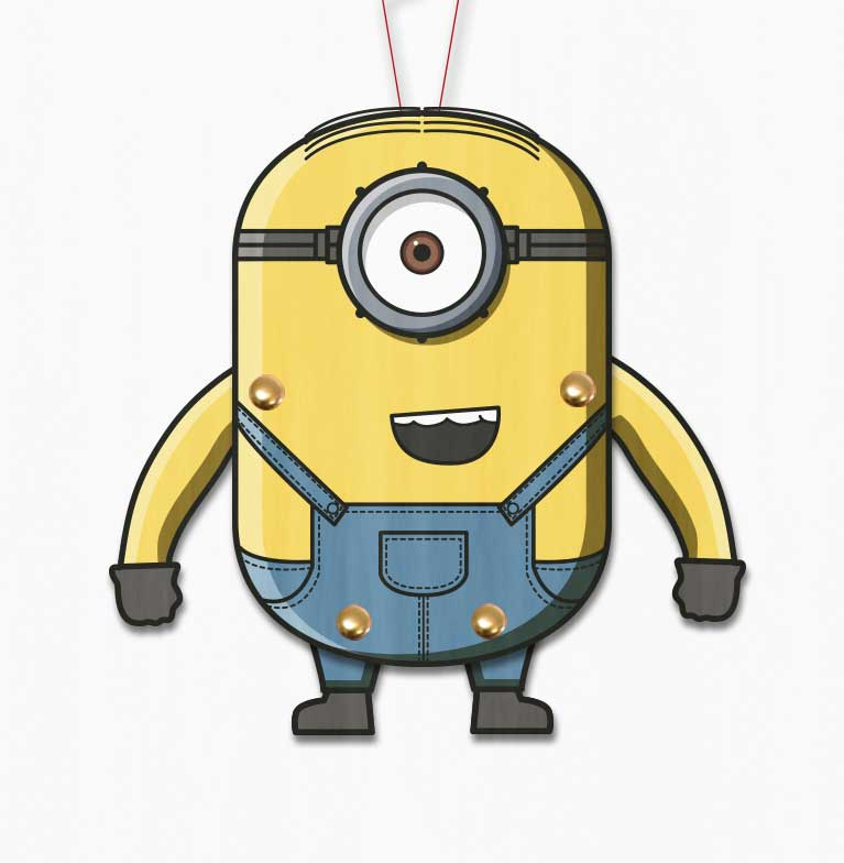 minion paper puppet