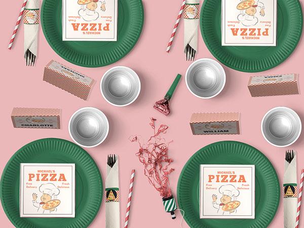 Pizza Party decoration kit