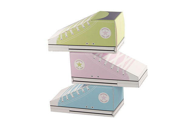 Converse styled favor box