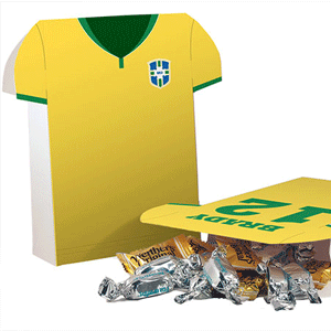 Soccer Jersey favor bag