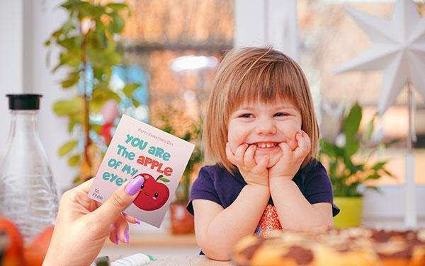 Children's valentin's cards