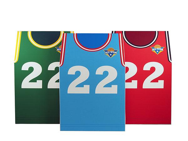 Basketball theme favor box