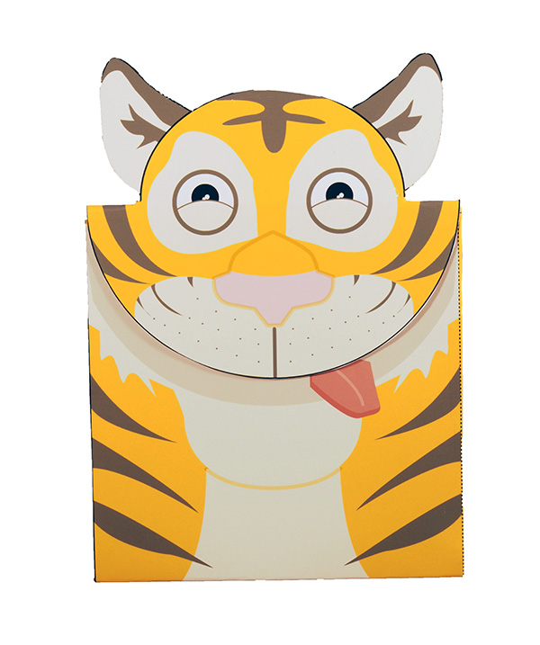 Tiger theme card