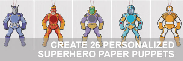Paper puppets templates